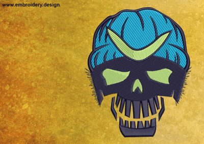 The embroidery design Captain Boomerang from the Suicide Squad