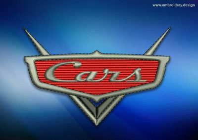 The embroidery design Logo of Cartoon Cars
