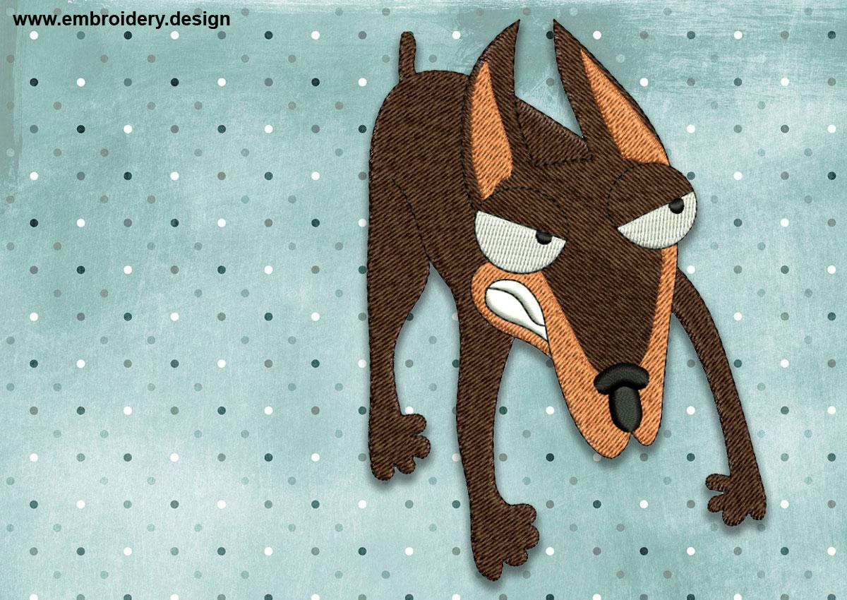 This Cool Angry Dog Doberman