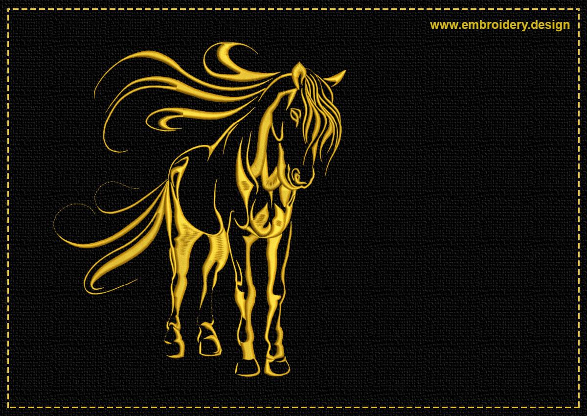 This Cute horse