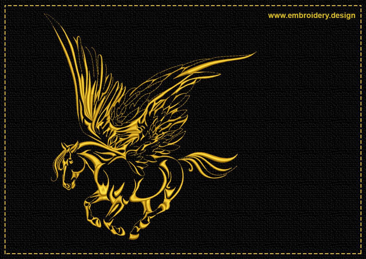 This Flying Pegasus