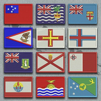 Flags of Islands