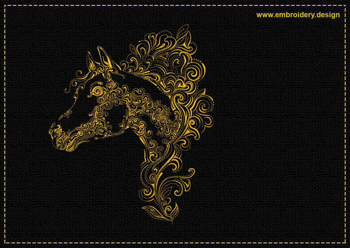 This Openwork horse