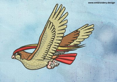 The embroidery design Pidgeot Pokemon