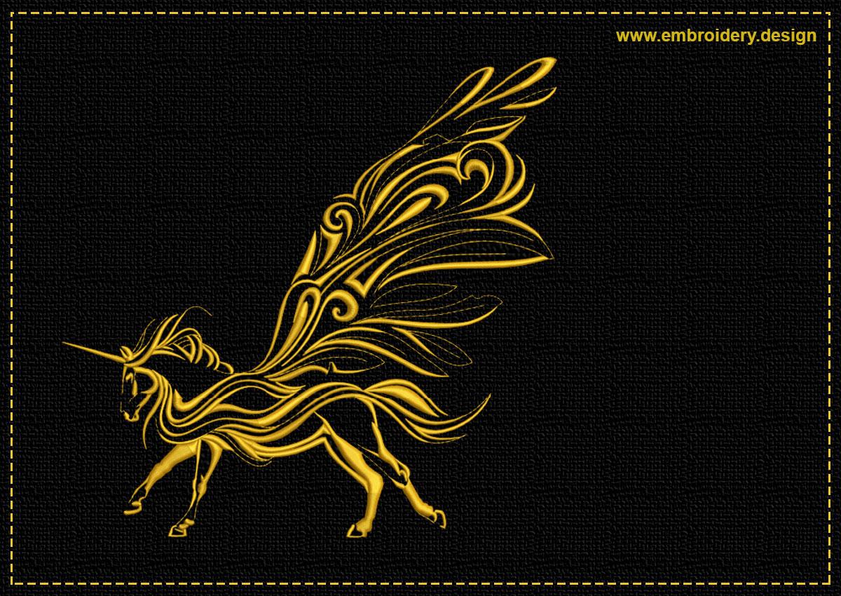 This Running Unicorn
