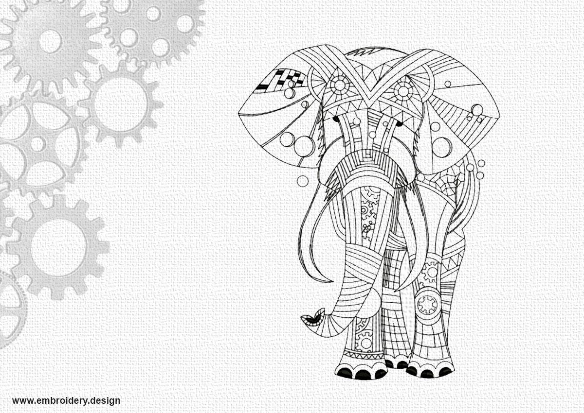 Art elephant
