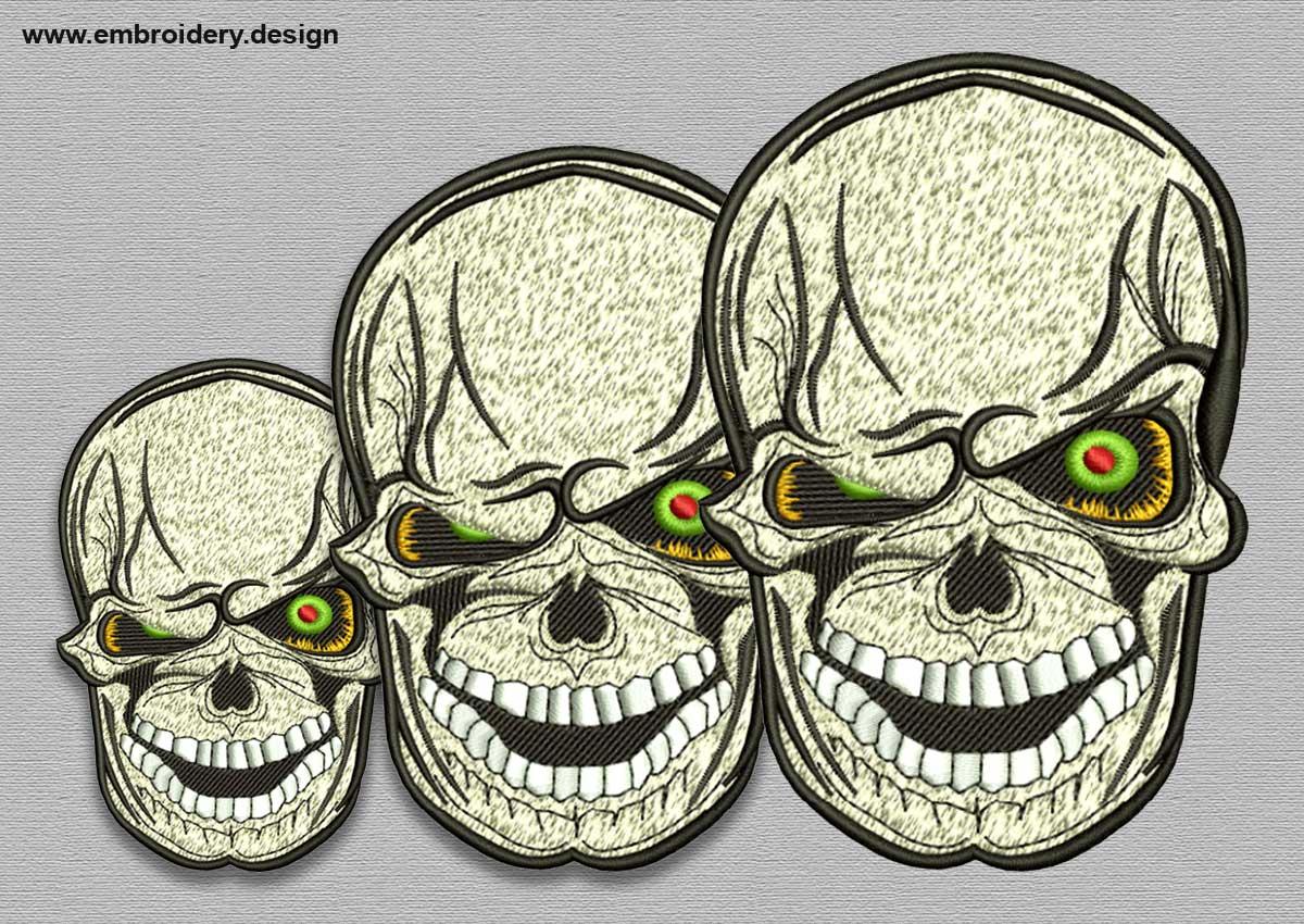 Bonkers skull