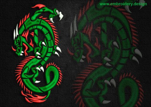 This Cunning celtic dragon