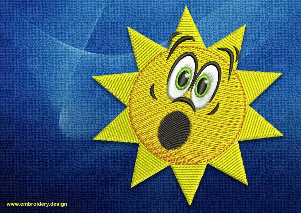 Disheartened sun