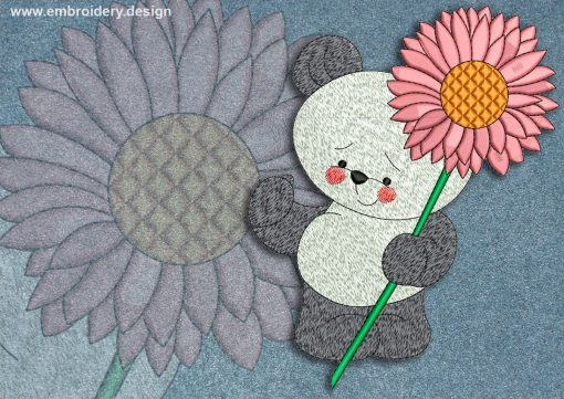 This Flower and bear