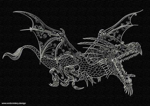 This Flying dragon