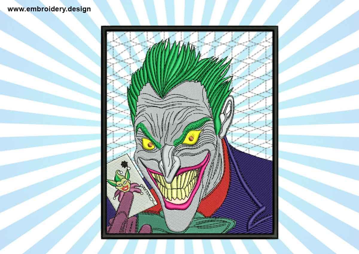 This Joker in frame