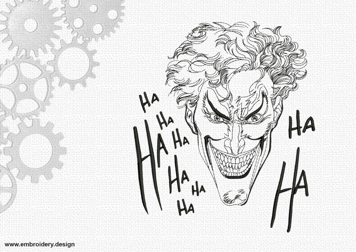Laughing joker Ha-Ha