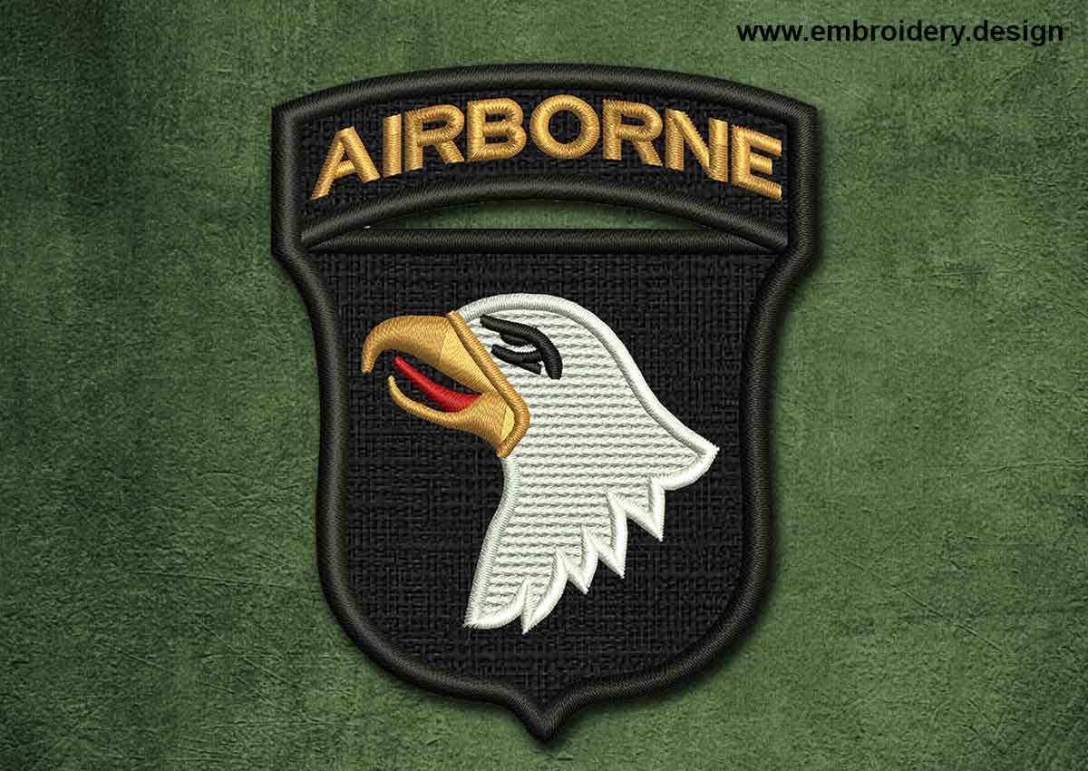 Military Security Patch Airborne