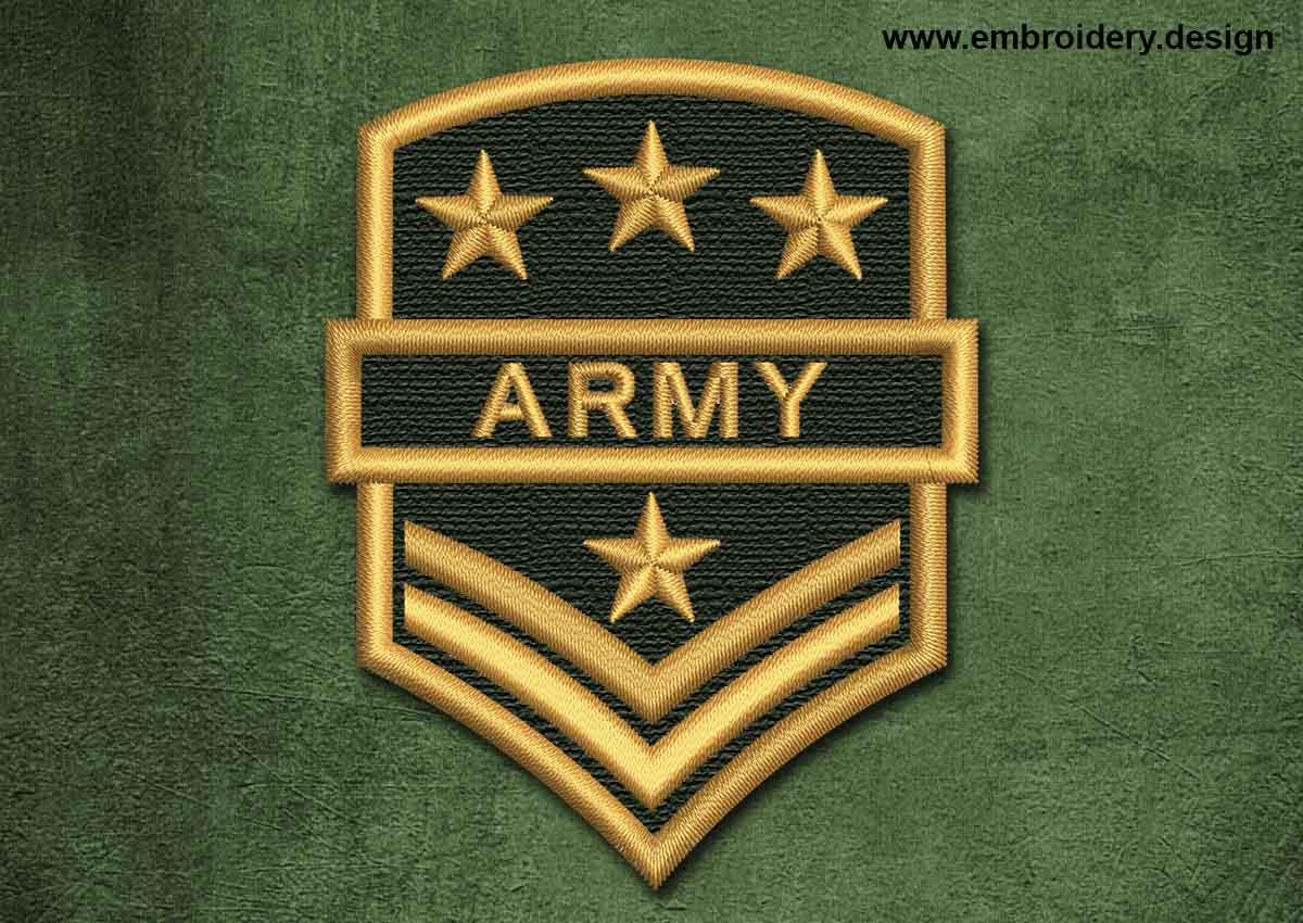 Military Security Patch Army