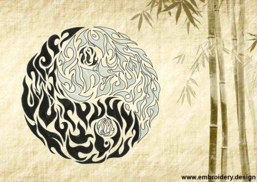 This Openwork Yin Yang