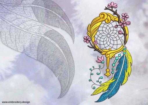 This Oriental dreamcatcher