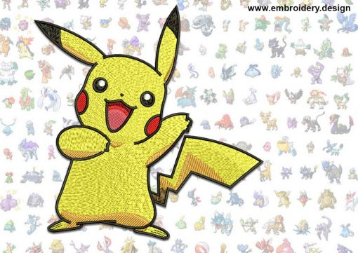 This Pikachu Pokemon