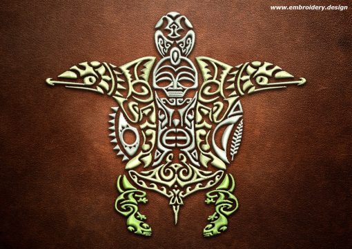 This Polynesian tattoo Kaumoana