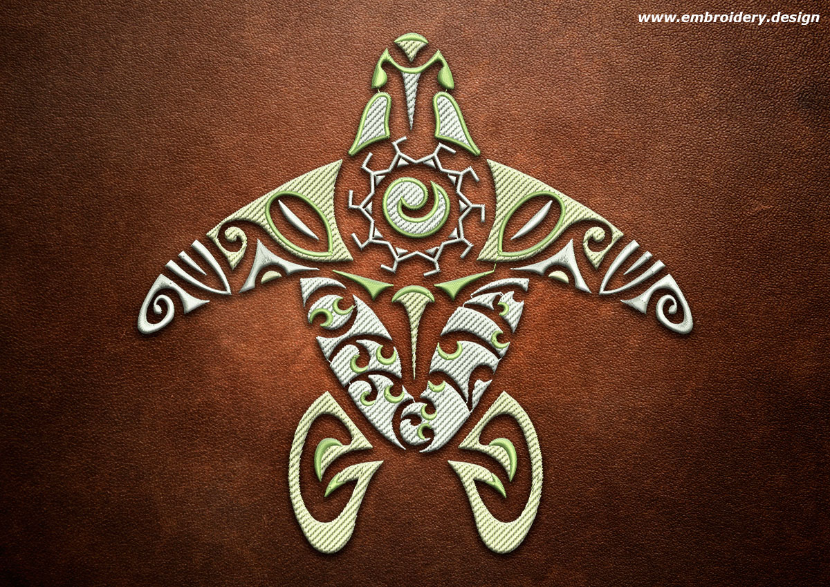 design embroidery polynesian tattoo offelia by. Black Bedroom Furniture Sets. Home Design Ideas