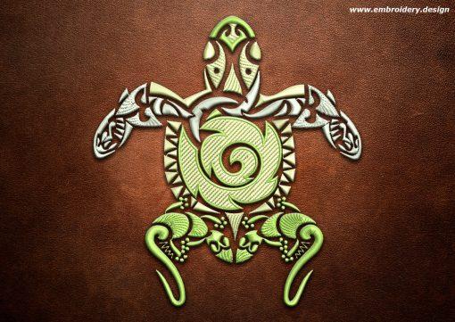 This Polynesian tattoo Timatanga