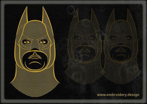 This Portrait of Batman