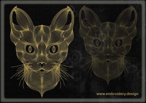 This Portrait of lynx