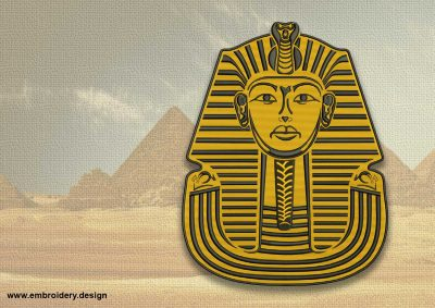 The embroidery design Portrait of Pharaoh