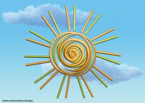 This Radiant sun