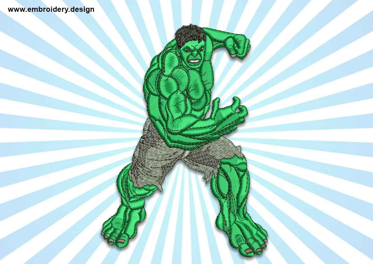 Running hulk