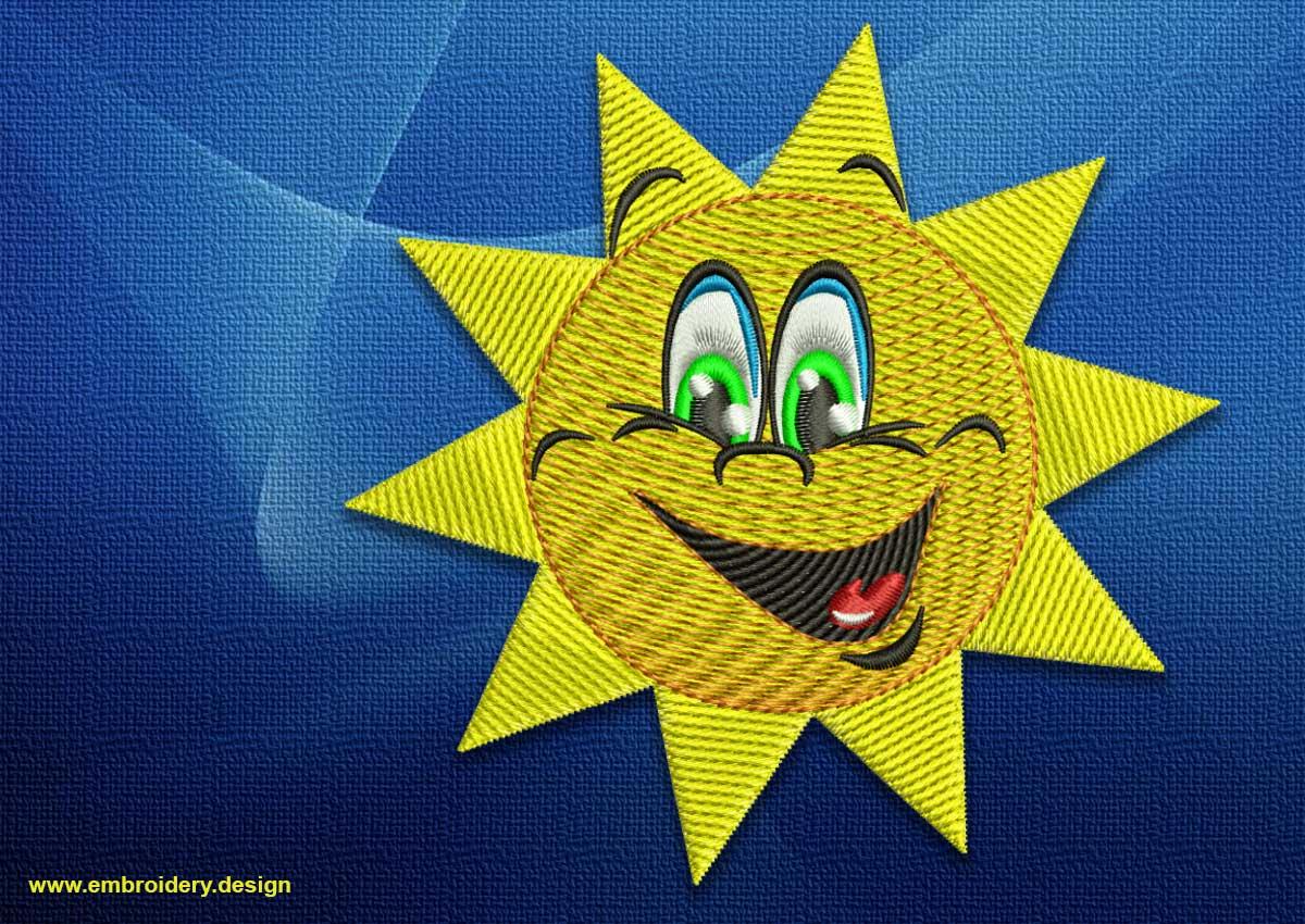 Satisfied sun