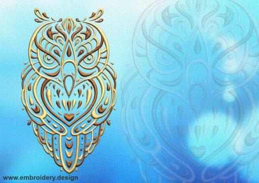 This Profound owl tattoo