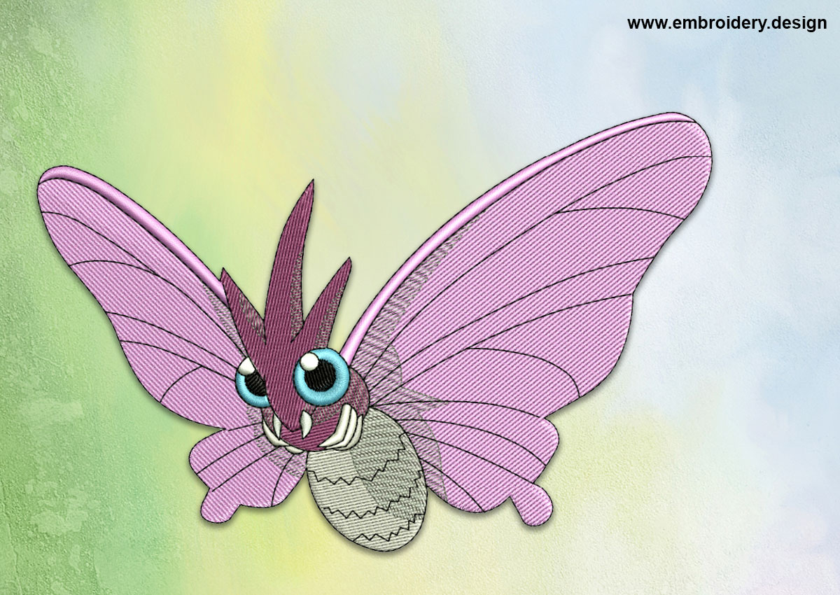 This Venomoth Pokemon